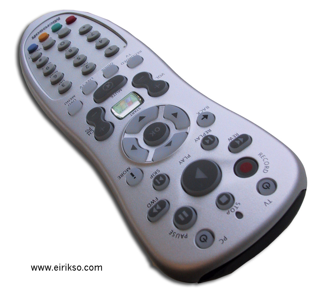 How To Program The Buttons On Your Mce Remote Eirikso