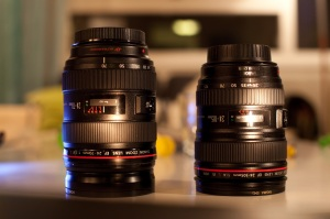 Canon 24-70 and 24-105 L-lenses